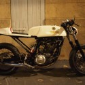 French XT660 Yamaha Cafe Racer